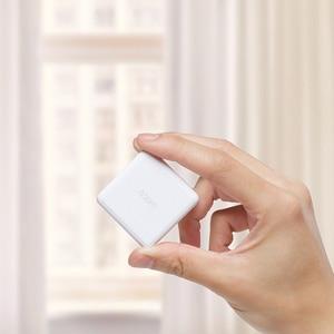 Image 5 - Orijinal Xiaomi aqara sihirli küp denetleyicisi Zigbee sürüm kontrollü altı eylemler akıllı ev cihazı ile çalışmak mijia ev uygulaması