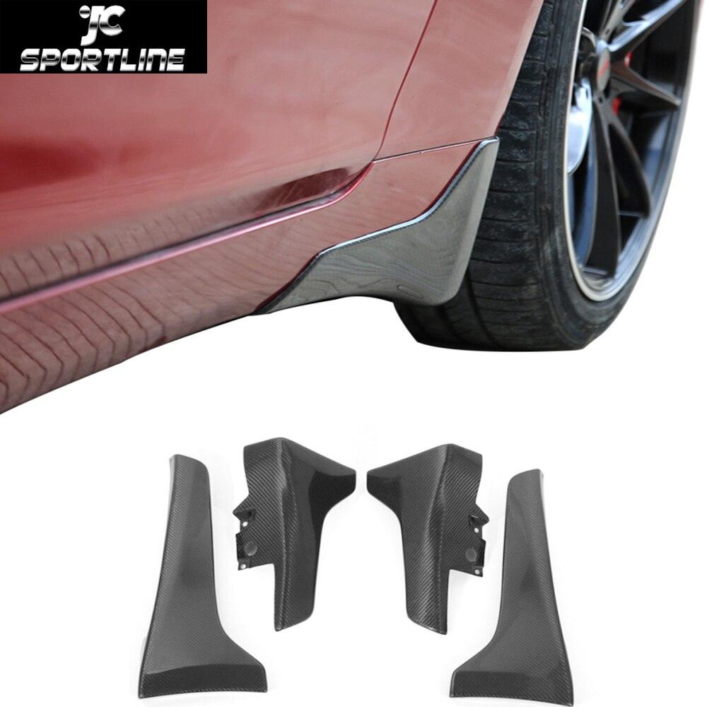 Автомобиль-стайлинг углеродного волокна брызговики брызговик для Инфинити q50 и 2014-2016