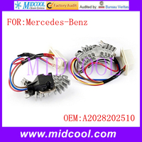 New A/C Blower Motor Resistor Regulator use OE NO. A2028202510 for Mercedes-Benz W202 S202