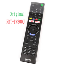 New Genuine Original RMT-TX300U For Sony TV 4K HDR Ultra HD TV'S KD-55X720E KD-60X690E KD-70X690E RMTTX300U Remoto Controller genuine acdp 160d01 149318014 1 493 180 15 19 5v 8 21a laptop ac adapter for sony tv kd 49xd8305 kd 55xd8505 xbr 49x800d charger