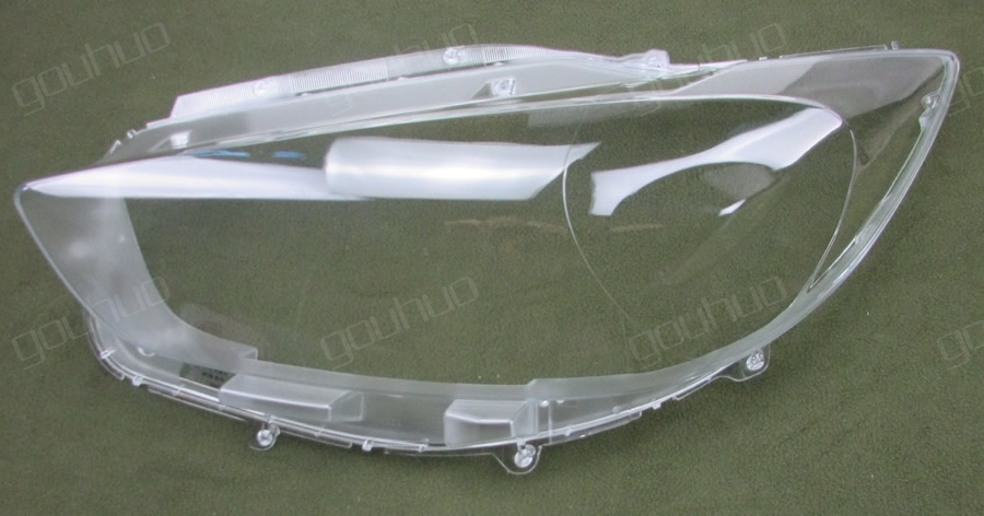 for Mazda CX-5 13-15 lamp shell headlight cover glass lampshade case transparent shade headlamp lens mask 2pcs