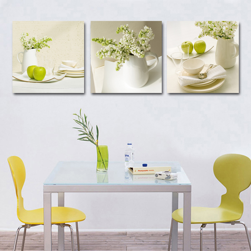 3 Piece Fruit Kitchen Pictures abstract beautiful oil painting home decoration wall art cheap modern canvas prints  wall art 9 pieces | Anderson Silva vs Vitor Belfort (Custom 9-Piece Wall Art) 3 font b Piece b font Fruit Kitchen Pictures abstract beautiful oil painting home decoration font