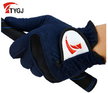 TTYGJ golf gloves Men'S super-fibre cloth gloves soft breathable wear-resistant Free shipping Hot brand in China