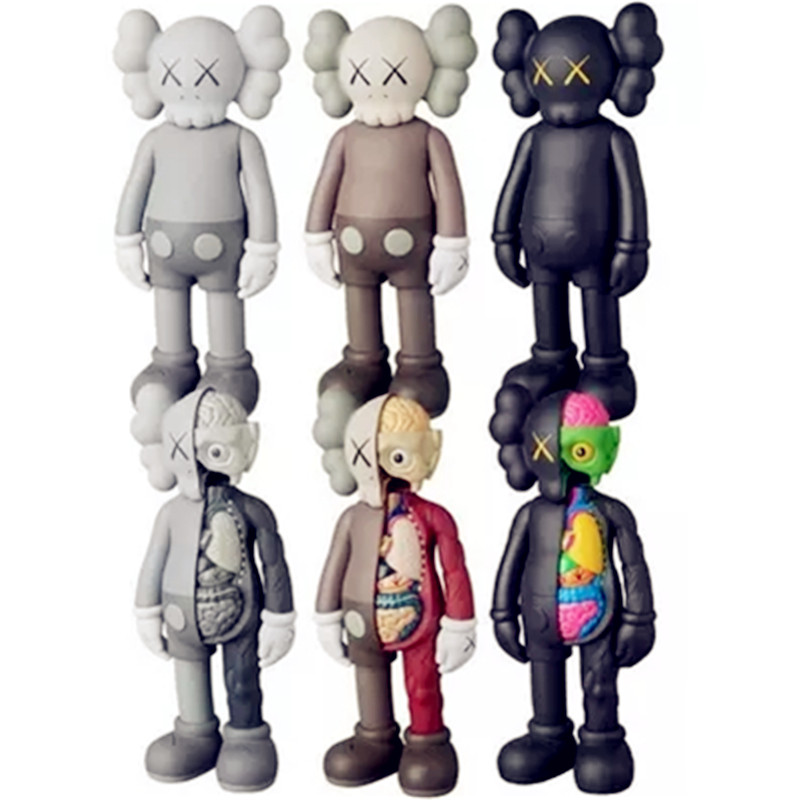 8 KAWS Tide Doll OriginalFake BFF Tide Doll Brian Street Art PVC Action Figure Collectible Model Toy S161
