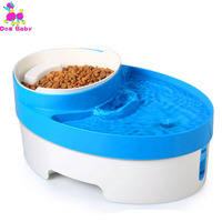 Cat Automatic Feeder Water Dispenser Feeder Utensils Bowl For Dogs Drinking Fountain Food Dish Pet Bowl