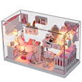 Dream Princess Room hand assembled house villa Model Girls Birthday Gift