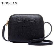 Stylish Casual Mini Bags Women Messenger Bags PU Leather Small Shoulder Bag Black Famous Brand Designer
