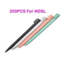 200 шт., пластиковый многоцветный стилус, стилус для сенсорного экрана Nintendo Game Lite NDSL