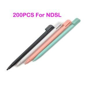 Image 1 - 200 шт., пластиковый многоцветный стилус, стилус для сенсорного экрана Nintendo Game Lite NDSL