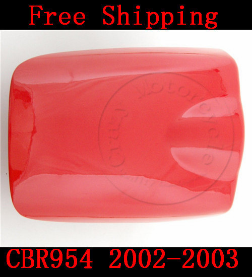 For Honda CBR 954 CBR954 2002-2003 motorbike seat cover Brand New Motorcycle Red fairing rear sear cowl cover Free Shipping