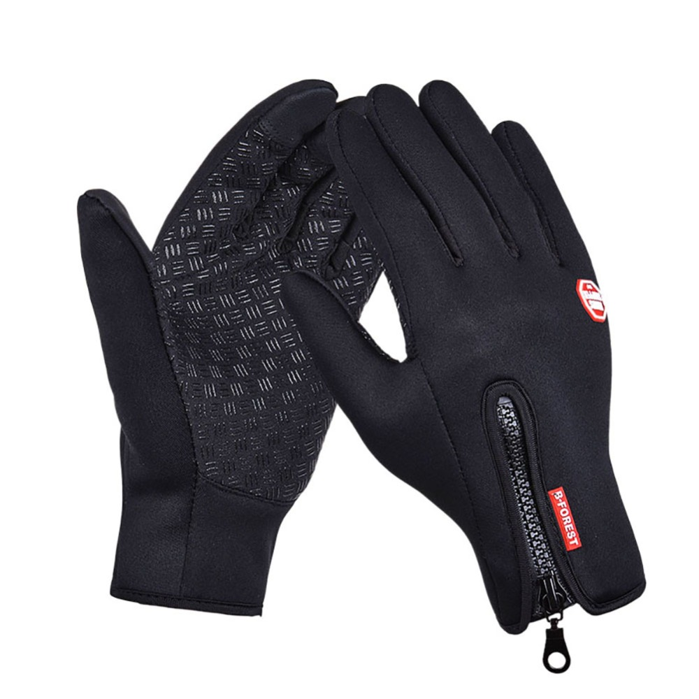 Women Men Ski Gloves Waterproof Snowboard Gloves Winter Motorcycle Riding Snow Windstopper Camping Leisure Mittens(China)