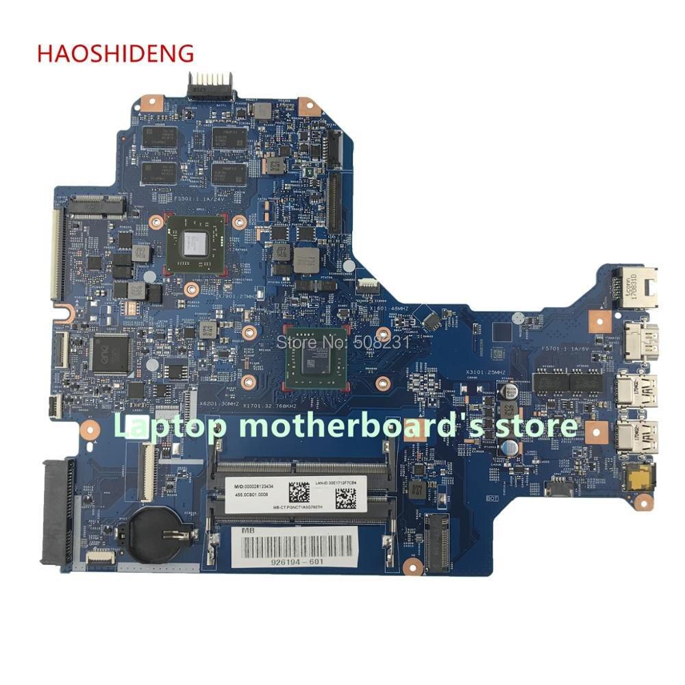 HAOSHIDENG 926194-601 448.0CB03.0011 mainboard For HP LAPTOP 17-AK 17Z-AK 17-AK061NR Laptop Motherboard 530 2GB A9-9420 haoshideng 856765 601 856765 001 448 08g03 0011 mainboard for hp notebook 17 y 17z y 17 y088cl laptop motherboard with a8 7410