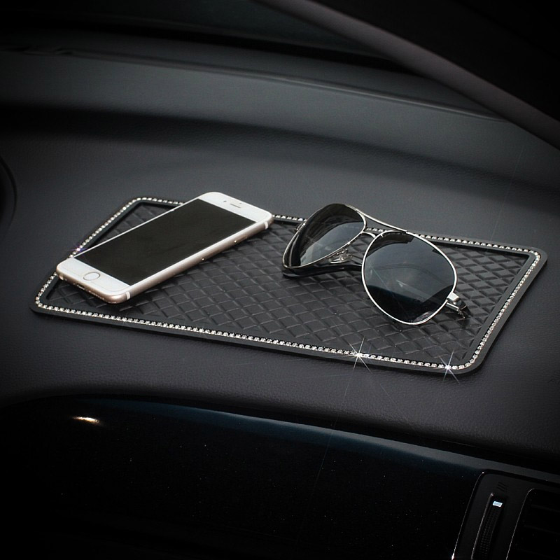 lowest price Bling Crystal car tissue Box Luxury PU Leather Auto Paper Box Holder Cover Case Tray for Home Office Automotive