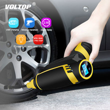 Car Inflatable Pump Tyre Compressor Tire Inflator Air USB Charging Wireless Handheld Electric 120w Digital