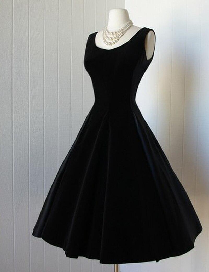 Popular Black Velvet Cocktail Dresses-Buy Cheap Black Velvet ...