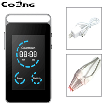 Soft low level laser chronic rhinitis relief and blood control device