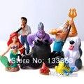 La Sirenita juguetes Figuras PVC figuras Doll, juguetes para niños, regalos para las niñas, juguetes de los niños, la Hermosa Carpa Espíritu