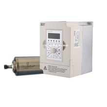 цены на 1.5kw water cooled spindle motor ER11 D80mm L180mm AC220V & 1.5kw 220v BEST VFD Inverter Variable Frequency Drive  в интернет-магазинах
