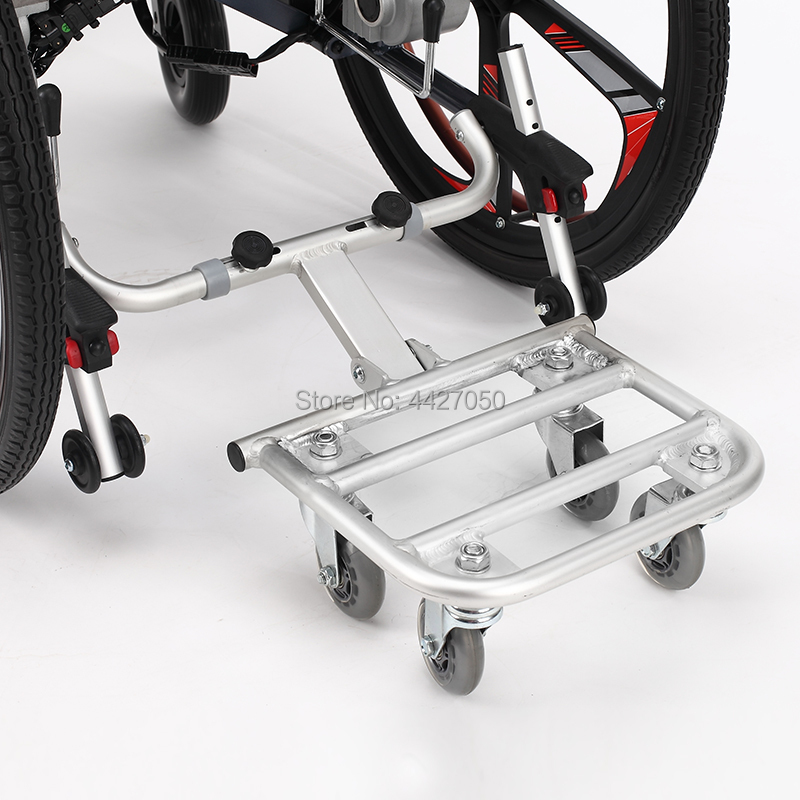 2019 Free shipping High quality electric wheelchair trailer