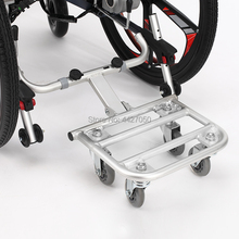 electric wheelchair towing dolly