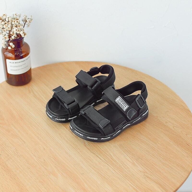 Zaizaile 2018 Letnie dzieci Czarny sneaker Sandal Baby Boy Pu - Obuwie dziecięce - Zdjęcie 2