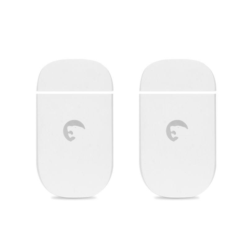Etiger 2pc ES-D3C Wireless Door/Window Contact Alarm Home Burglar Alarm Door Windows Alarm Tamper Switch