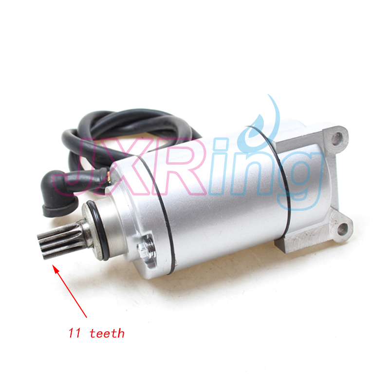 11T Zongshen CB250 Water Cooled Engine stater Electric Starter Motor For Kayo Apollo Bos ...