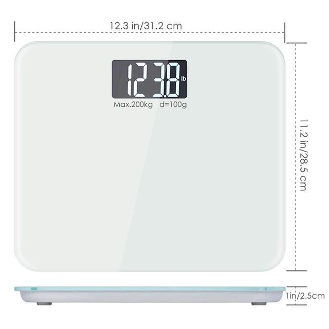 Household Bathroom Scales 200kg 100g