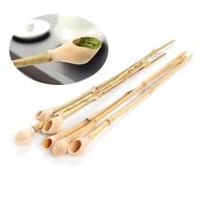 1 шт., супер-класс, Бамбуковая ложка для порошка матча, натуральные бамбуковые соединения, Подарочный чайный набор, профессиональные японские инструменты для чайной церемонии, совок