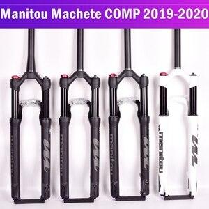 Велосипедная вилка Manitou Machete COMP, велосипедная подвеска, горный велосипед, МТВ, воздушная вилка 27,5 дюймов, 29er, ручной контроль, Дистанционный З...