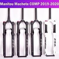 Велосипедная вилка Manitou Machete COMP подвеска велосипеда горный велосипед MTB воздушная вилка 27,5 дюймов 29er ручное управление Дистанционное запира