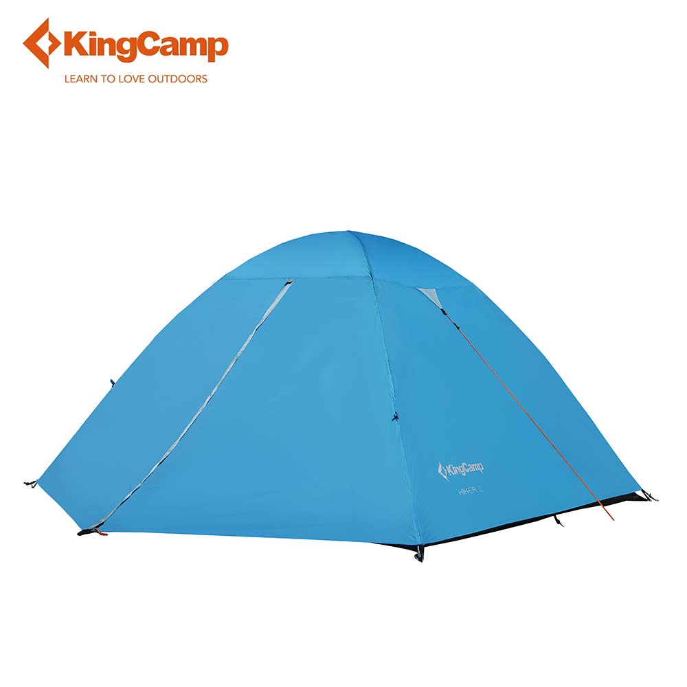 KingCamp Camping Tent Waterproof 3-Person 3-Season Double Layer Portable Lightweight Durable for Outdoor цена