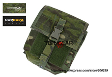 TMC MOLLE NVG Battery Pouch Multicam Tropic Night Vision Goggles Nylon Battery Pouch Free shipping SKU12050753