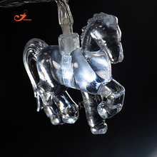 Horse LED flower love pet animal string lights party  wedding  lamp garden home lumieres luces holiday