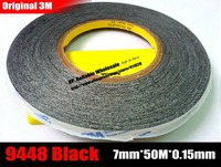 7mm 50 Meter 3M Double Sided Adhesive Tape Sticky For Phone Touch Panel Dispaly Screen Case