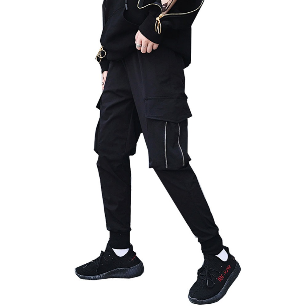 KEDERA 2017 new sweatpants men cargo pants male joggers hip hop casual pants trousers jogger sweat