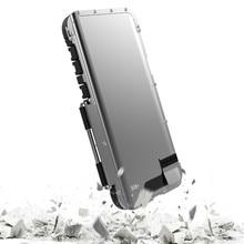 Para samsung s10 metal flip cover original r just caso de alumínio para samsung galaxy s10 s9 mais nota 9 casos de saco de telefone anti knock
