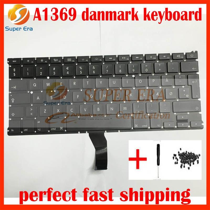 a1369 a1466 denmark dk danish keyboard clavier for macbook. Black Bedroom Furniture Sets. Home Design Ideas