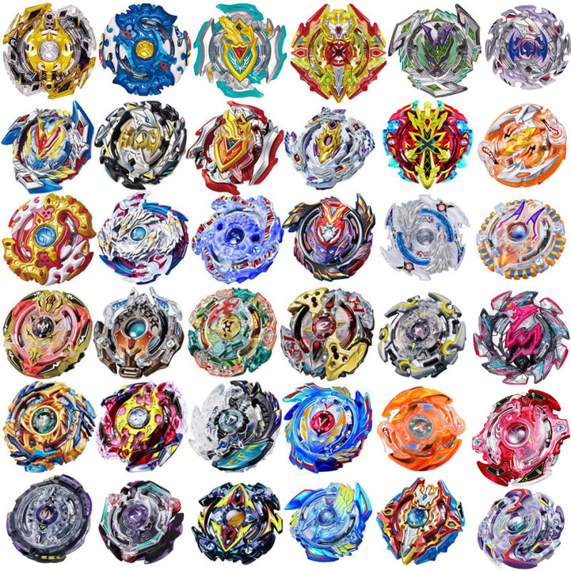 New Funny Joy B-100 Beyblade Burst Starter Bey Blade Blades Metal Fusion Bayblade With Launcher High Performance Battling Top(China)
