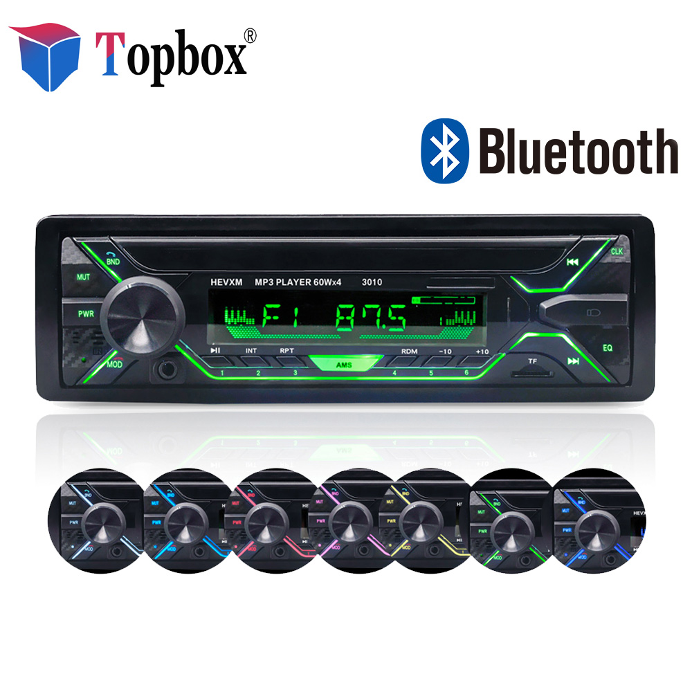 Topbox 1 din Car Radio Stereo Player Bluetooth Phone AUX-IN MP3 FM/USB/1 Din/remote control 12V Car Audio Auto 2018 Sale New 2017 newest car radio bluetooth mp3 fm sd 1 din remote control usb port 12v 1 din auto radio blueooth car audio mp3 player