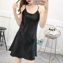 Women's Summer Lingerie Silk Nightwear