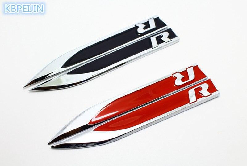 Set Aus Zwei 82 Mm Schwarzen Abzeichen Emblem Motorhaube
