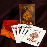 Bicycle Fire Elements Series Playing Cards Deck Collectable Poker Limited Edition Sealed Magic Cards Magic Tricks