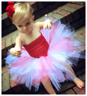 Cute Baby Girl Tutu Dress Birthday 2016 Fashion Newborn Tutus Toddler Dresses 1st