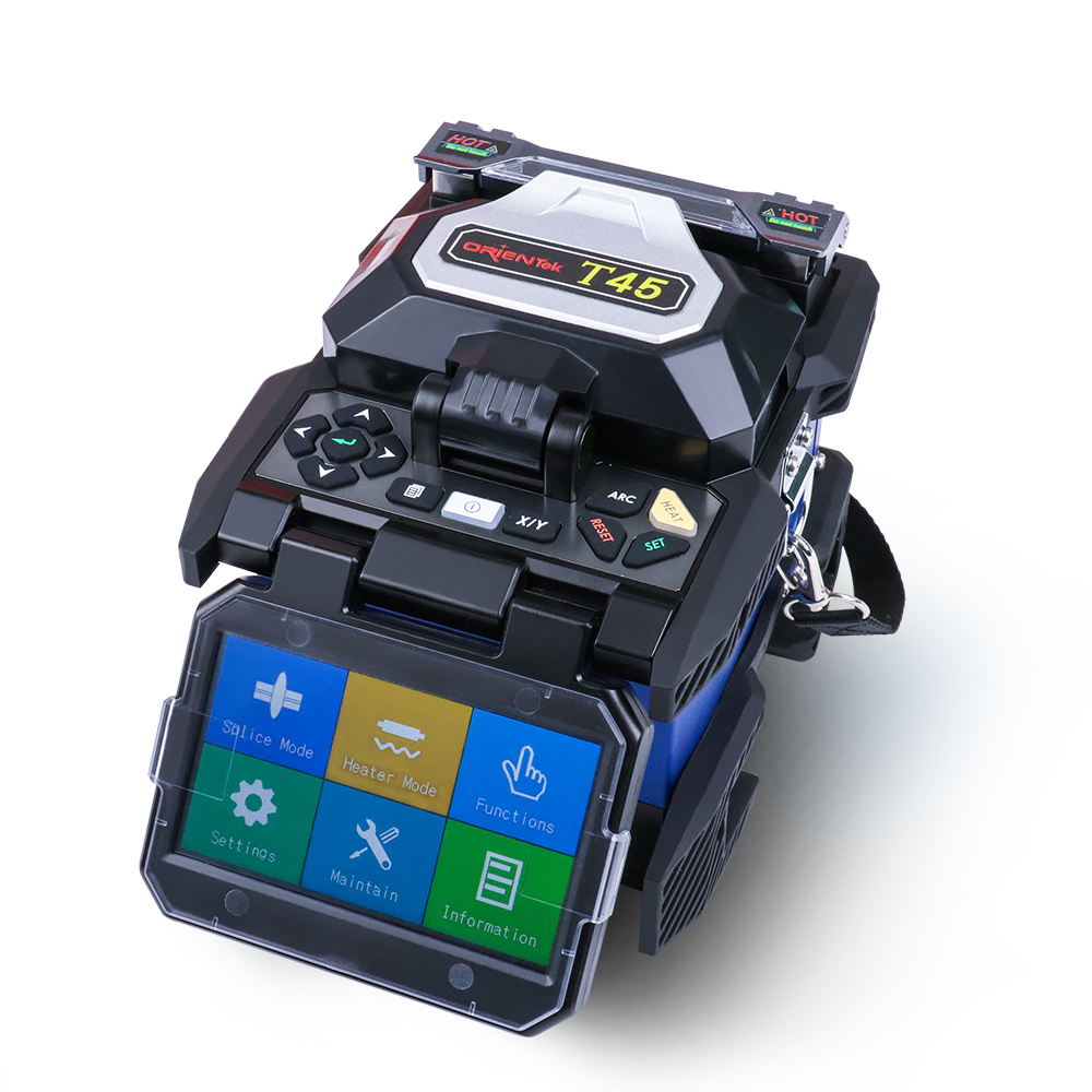 ORIENTEK T45 Fusion Splicer Chinese Fusion Splicing Machine Price Support Multiple Language
