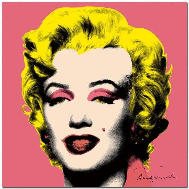 2017 promoción apresurado cuadros Andy Warhol Marilyn Monroe 3 panel ...
