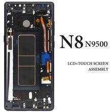 6 3 For Samsung Note 8 N9500 N950F N900D N900DS N950U LCD with Frame AMOLED Digitizer