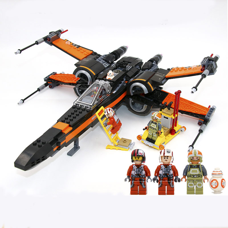 748pcs Star Wars awakening of the original force X-wing Fighter Assembled Toy Building Blocks compatible with legoingly Selling lecgos building blocks super heroes star wars x wing fighter millennium falcon the force awakens compatible with lecgos