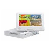 JSA CCTV 8ch 1080N Digital Video Recorder With 10 1 LCD Resolution 1024 768 Hybrid DVR