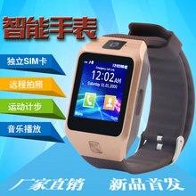 [Bestseller] DZ09S Bluetooth Smart Uhr tragbare geräte Unterstützung SIM TF Karte Smartwatch Für apple Android OS telefon Uhren